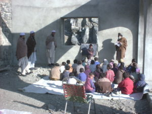Students learn in Kama Relief supported school in Afghanistan